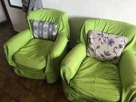 Dos sillones individuales