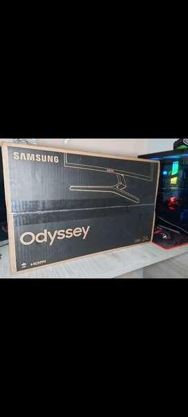 Monitor Samsung 24 Crg5 Curvo Gaming 144hz