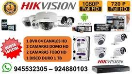 Venta e Instalacion de Camaras de Vigilancia HD