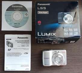 Camara Panasonic Lumix 14mpx Silver