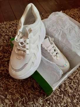Zapatillas Blancas para mujer Estado 10/10
