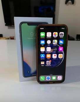 iPhone X 64Gb Negro Impecable con Caja