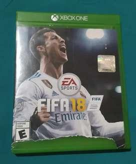 Se Vende o cambio juego Xbox one FIFA 18
