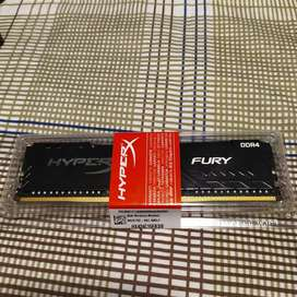 Memoria ram Ddr4 Kingston hyperx 8gb 2400mhz Nueva