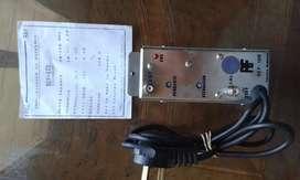 amplificador de refuerzo TV CABLE REF 120
