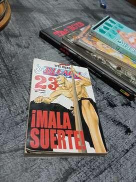 libro manga Bleach Vol. 23 MALA SUERTE! por TITE KUBO GLENAT Edition Espanola