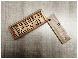 Domino En Madera Doble 6 X 28 Fichas