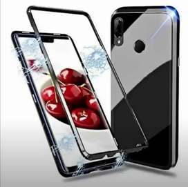 iPhone x xs estuche magnético de lujo bordes Rose
