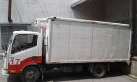 Vendo Camión Refrigerado Jac 1040 de 3.5 TM trabajando
