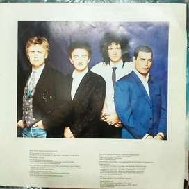 DISCO DE VINILO QUE  QUEEN  THE MIRACLE  IMPORTADO