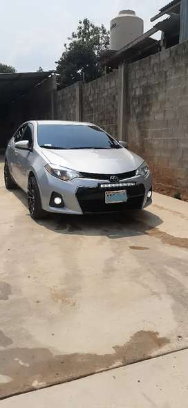 Toyota Corolla sport 2016 impecable