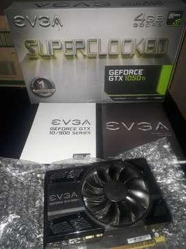 Placa de video EVGA GTX 1050 TI SC 4 GB GDDR5