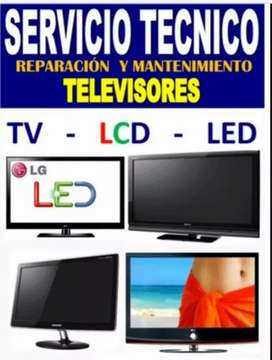Servicio técnico de tv led lcd