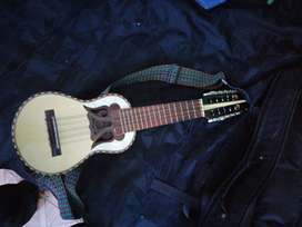 Charango boliviano, con estuche, plumilla y correa, solo 2 meses de uso