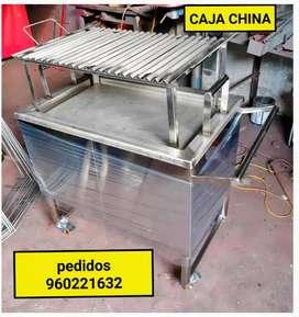 Caja china inox