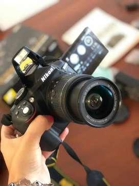 Nikon D5300 Profesional como nueva