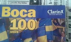 Boca 100 Años Un Sentimiento Libro Clarin Abril 2005