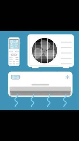 Instalación y servi completo de aire acondicionado