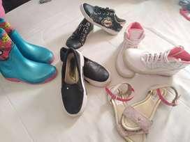 Lindos zapatos para ñina