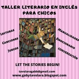 Taller de cuentos y juegos en inglés para chicos