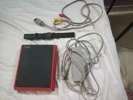 Consola Wii clásica (versión mini) descompuesta