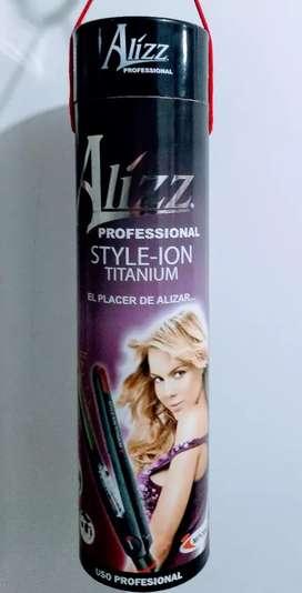 Plancha Alizz Style Ión titanium
