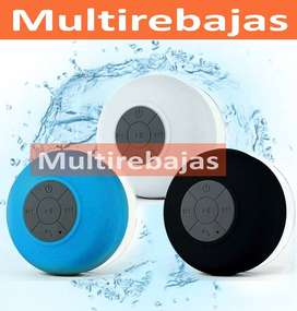 Parlante Bluetooth, Ducha, Contra Agua, Ventosa, Llamadas