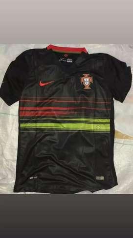 Camiseta Portugal negra