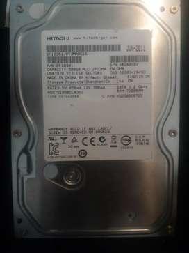 Disco rigido Hitachi 500GB Usado