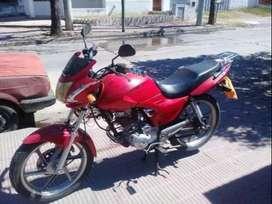 Moto casi sin uso 20000 km