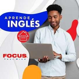 Aprende inglés en poco tiempo de manera efectiva con FOCUS YOUR MIND