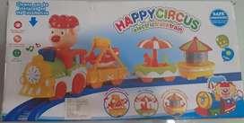Juego de Tren Happy Circus Electrico