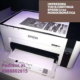 Impresora tinta continua Epson m1120 monocromático wireless