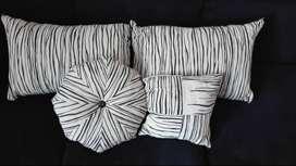 Set de 4 almohadones para sillon.