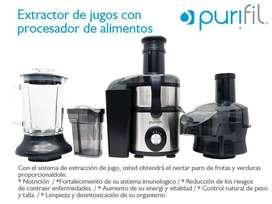 Extractor - licuadora - tajadora