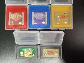 Juegos de LEGEND OF ZELDA para Nintendo Game boy Advance gameboy GBA