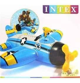 Flotador Intex 57537 Para Niño Tipo Avion Pies Env Inmediato
