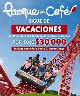 Promocion Parque del cafe