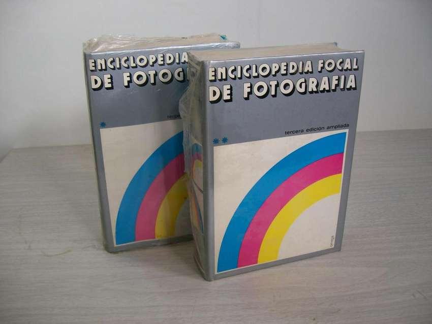 ENCICLOPEDIA FOCAL DE FOTOGRAFIA 2 TOMOS NUEVOS 0