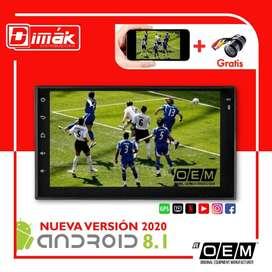Radio Android 8.1 Oem Original, GPS con camara retro
