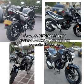 Vendo Honda cb160f STD