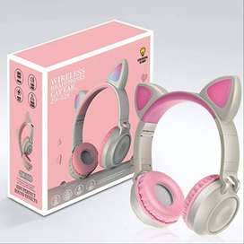 Zw-028 Auriculares Inalámbricos Bluetooth Glowing Cat