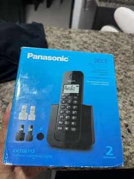 Vendo telefono panasonic