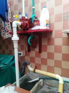 Recolector de agua para sanitarios