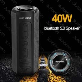 Tronsmart T6 Plus Altavoz Bluetooth 40W altavoz portátil bajo profundo IPX6 impermeable el mejor!!!