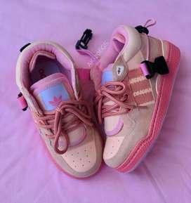 Zapato Tennis Deportivo Adidas Forum Para Niños