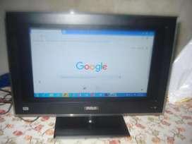 Monitor Tv Led 19 Rca L19s9500 Hdmi Exc Imagen Control Rem