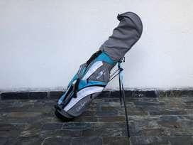 Talega De Golf Walter Hagen Series III 3 Jr - Azul Con Palos