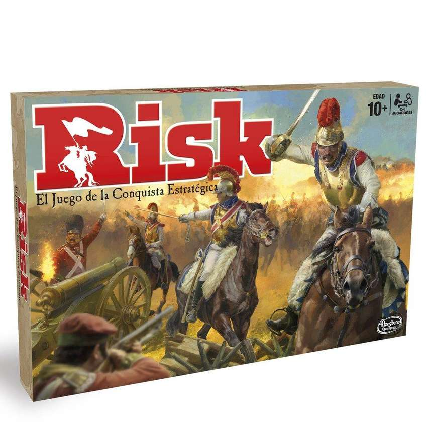 Risk - Hasbro Gaming Original Juego De Mesa 0