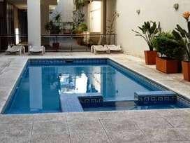 alquilo por 1 dia y +dias  en recoleta  capital  2/3 personas piscina